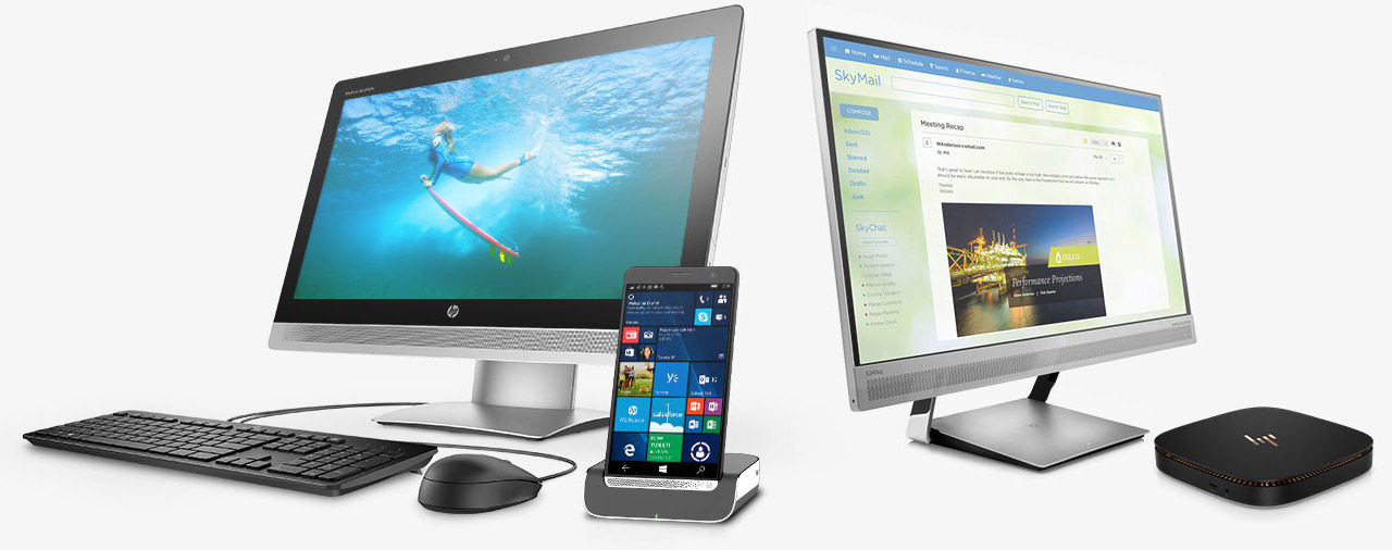 HP Elite business desktops