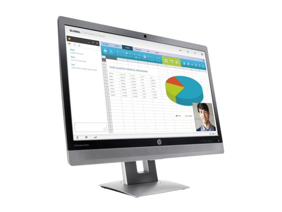 HP EliteDisplay Video Conferencing Monitor